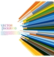 Moving colorful abstract background vector image vector image