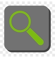 Search Tool Rounded Square Button vector image