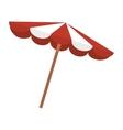 summer beach parasol vector image