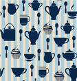 Teatime Background - vector image vector image