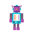 toy robot flat childish vector image
