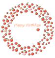Apple Happy Birthday vector image