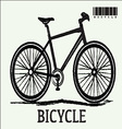 bicycles icon vector image