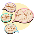 cute wood quotes vector image