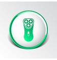 electric shaver razor icon symbol vector image