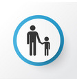 family icon symbol premium quality isolated vector image