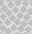 geometric stitch shapes seamless pattern vector image