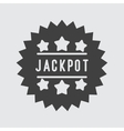 Jackpot icon vector image vector image