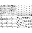 Overlay Brick wall texture for your deesign vector image vector image