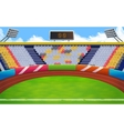 Stadium background vector image vector image