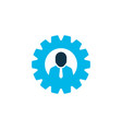 team head icon colored symbol premium quality vector image