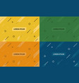 set of abstract backgrounds var 2 vector image