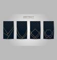 abstract metallic luxury dark blue with gold