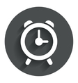 Alarm clock sign icon Wake up alarm symbol vector image vector image