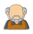 man character adult avatar profile picture vector image vector image
