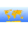 Map of the world vector | Price: 1 Credit (USD $1)