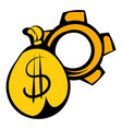 money bag icon icon cartoon vector image