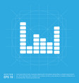 music sound wave icon vector image vector image
