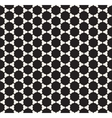 Seamless Black and White Rounded Circle vector image vector image