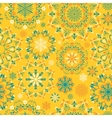 yellow snow pattern vector image vector image