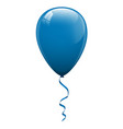 blue balloons vector image