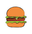 burguer vector image vector image