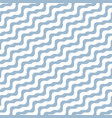diagonal wavy lines seamless marine pattern vector image