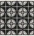 elegant lattice ornamental pattern vector image