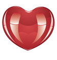 Glossy Heart2 vector image vector image