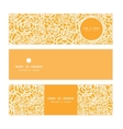 golden lace roses horizontal banners set pattern vector image vector image
