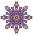 mandala pattern henna floral elements vector image vector image
