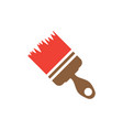 paint brush icon design template isolated vector image