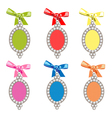 Set of glamorous charms vector image vector image