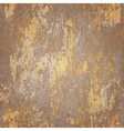abstract seamless texture of brown rusted metal vector image vector image
