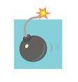 Ball bomb vector image