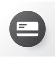 bank card icon symbol premium quality isolated vector image vector image
