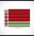 Belarus siding produce company icon vector image vector image