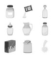 design product and calcium icon vector image