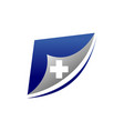 digital health document vector image vector image
