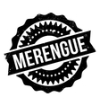 Famous dance style Merengue stamp vector image vector image