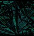 palm monstera seamless pattern vector image