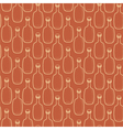 Seamless alcohol bottles pattern on brown vector image