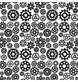 gears icons seamless pattern background vector image vector image