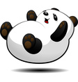 Little panda vector image