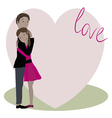 love story two vector image