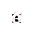 Man chat logo template