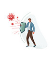protect business concept of vector image
