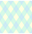 Seamless argyle pattern Diamond shapes background vector image