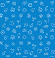 start up blue pattern seamless background vector image vector image