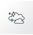 clean air icon line symbol premium quality vector image